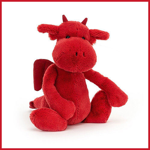 Jellycat Bashful Red Dragon Medium