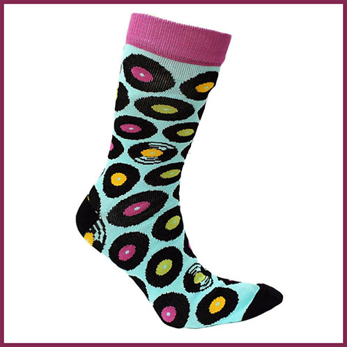 Bamboo Socks Records Size 7-11