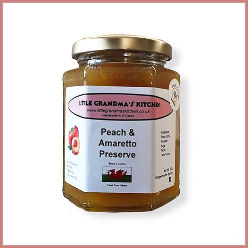Little Grandma's Preserve Peach & Amaretto