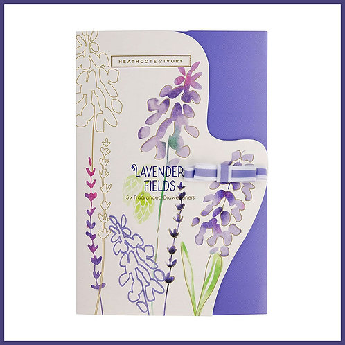 Lavender Fields Scented Drawer Liners