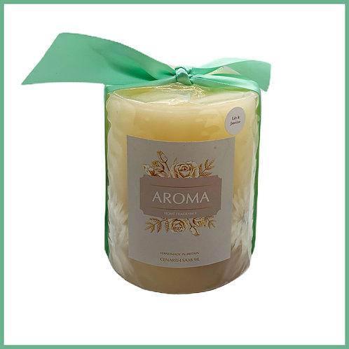 Aroma Botanical Candle Lily & Jasmine