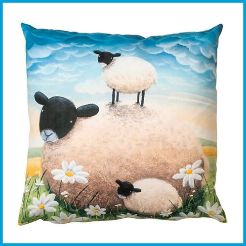 Lucy Pittaway Cushion Double Trouble