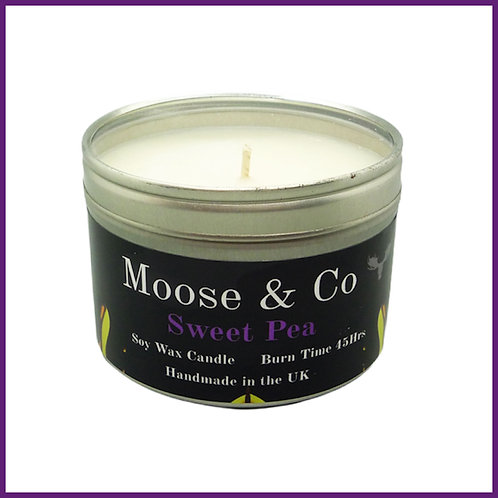 Moose & Co Soy Candle Large Sweet Pea