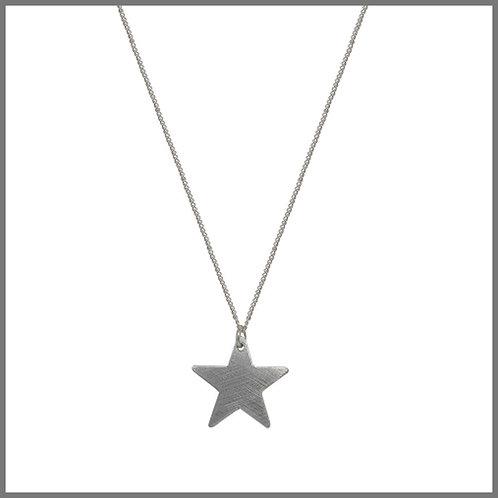 Aluminium Star Necklace