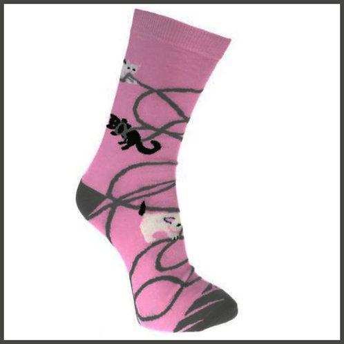 Bamboo Socks Kittens Size 3-7