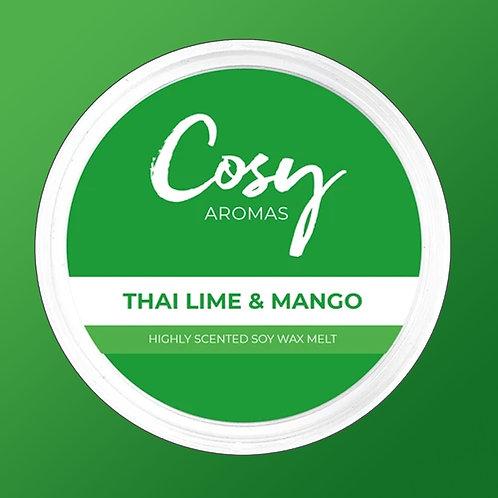Cosy Aroma Soy Wax Melt Pod Thai Lime & Mango