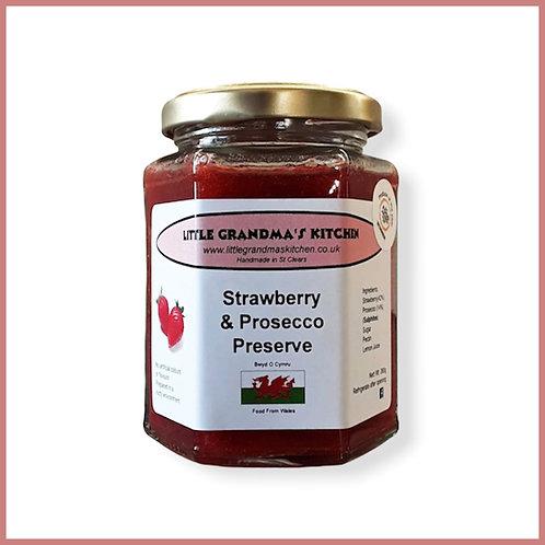 Little Grandma's Preserve Strawberry & Prosecco