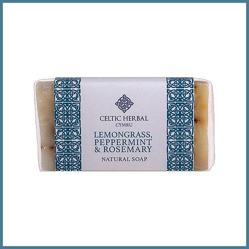 Handmade Natural Soap Lemongrass, Peppermint & Rosemary