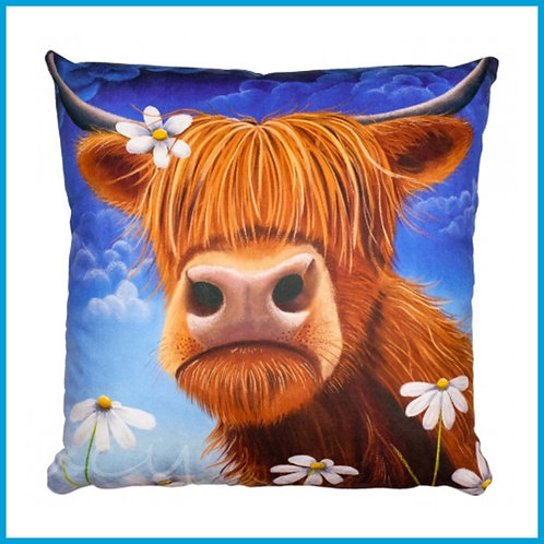 Lucy Pittaway Cushion Daisy The Cow