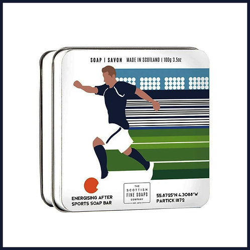 Soap in a Tin Sports Football 100g