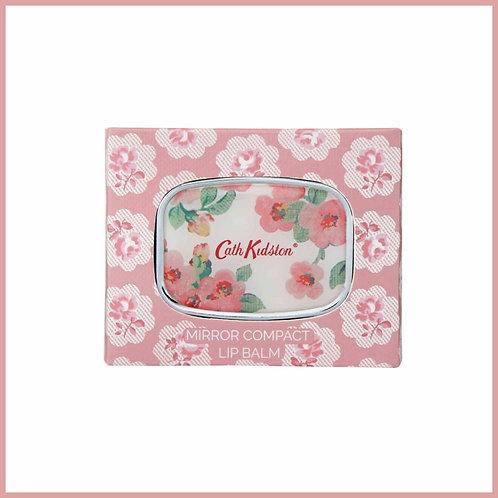 Cath Kidston Cassis & Rose Compact Mirror Lip Balm