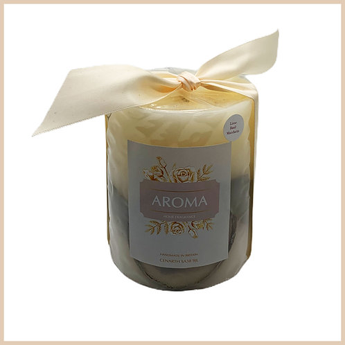 Aroma Botanical Candle Lime Basil Mandarin