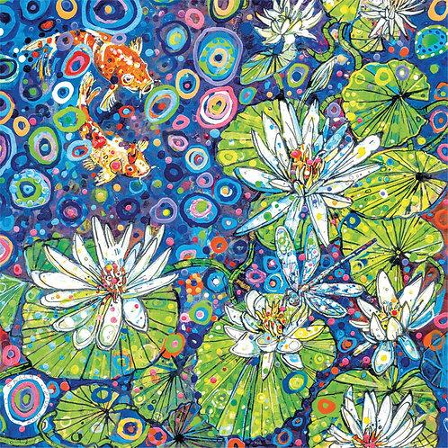 Sally Rich Waterlilies