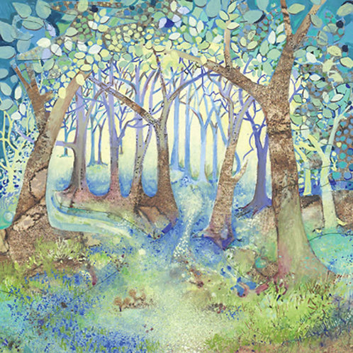 Harvest Moon Woodland Blue