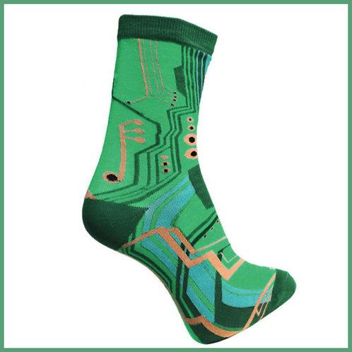 Bamboo Socks Circuit Board Size 7-11