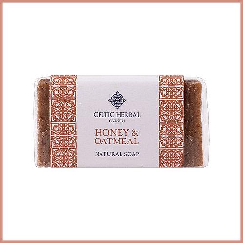 Handmade Natural Soap Honey & Oatmeal