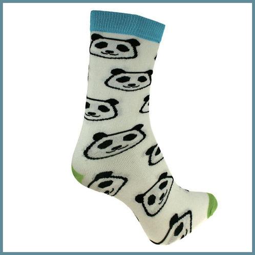 Bamboo Socks Pandas Size 3-7
