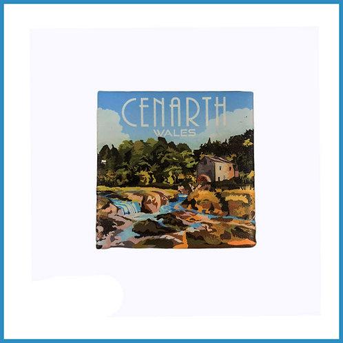 Cenarth Retro Design Ceramic Magnet