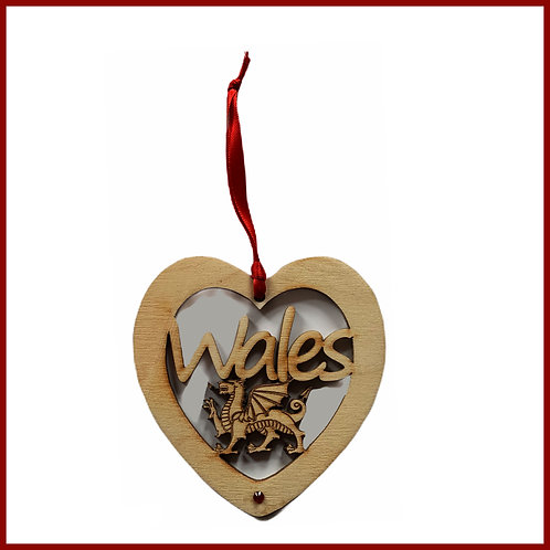 Welsh Fretwork Heart Wales