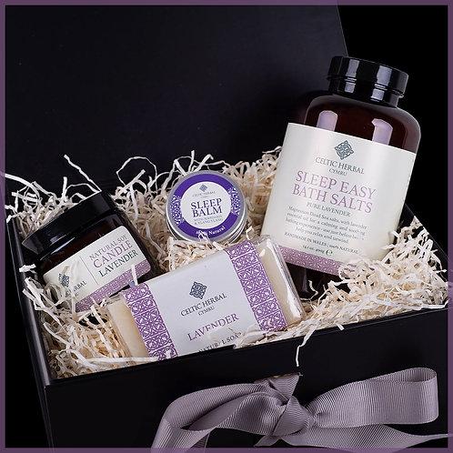 Sleep Easy Gift Box With Lavender, Mandarin & Ylang Ylang