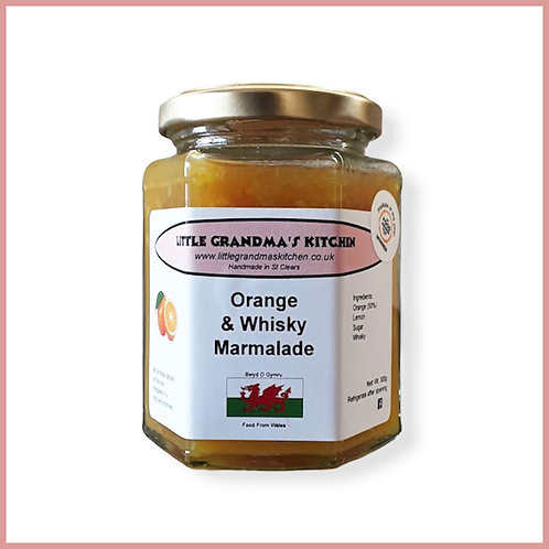 Little Grandma's Marmalade Orange & Whisky