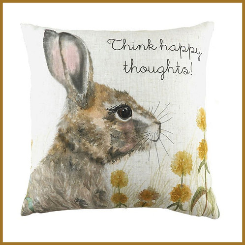 Woodland Cushion Think Happy