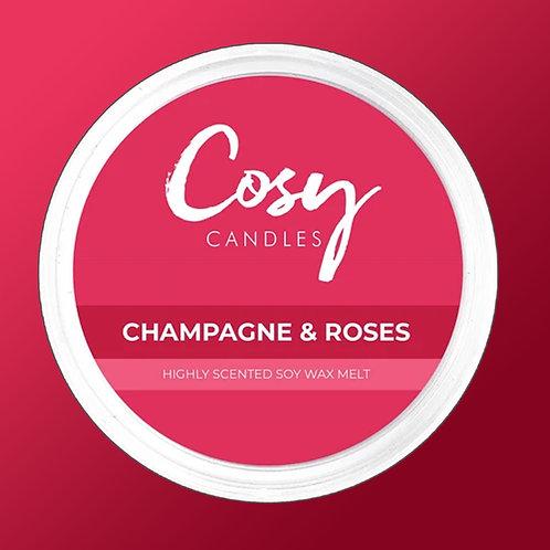 Cosy Aroma Soy Wax Melt Pod Champagne & Roses