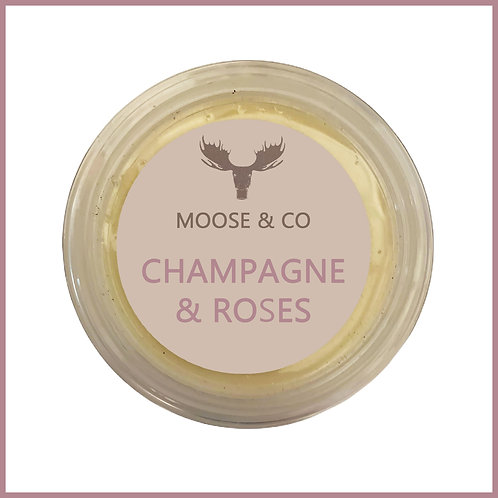 Moose & Co Soy Wax Melts Champagne & Roses