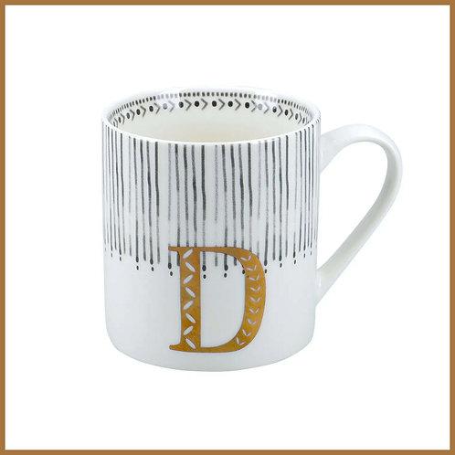 Alphabet Mug D