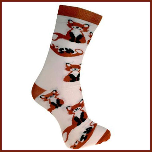 Bamboo Socks Foxes