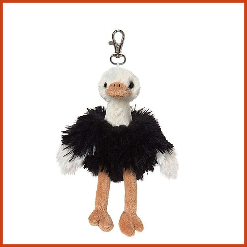 Olivia the Ostrich Keyring