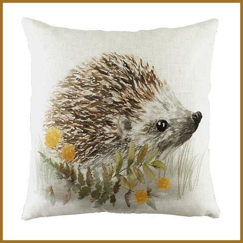 Woodland Cushion Hedgehog