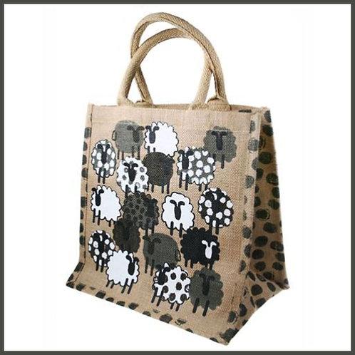 Jute Shopping Bag Sheep