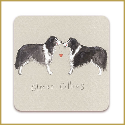 Alex Clark Coaster C08 Clever Collies