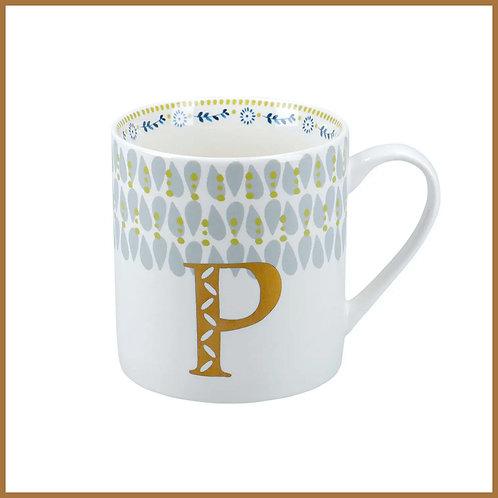 Alphabet Mug P