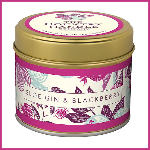 Fragrant Orchard Candle Sloe Gin & Blackberry
