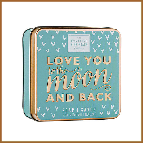 Soap in a Tin Sweet Sayings Moon 100g