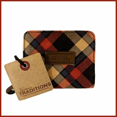 Heritage Traditions Moleskin Effect Purse Red