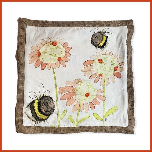 Alex Clark Cushion Bees & Blooms