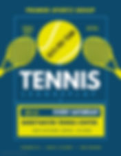 Copy of Tennis - Made with PosterMyWall.