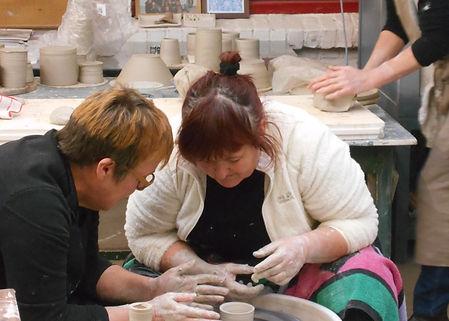 Kleiklas workshop Brugge Atelier Sabine Deroo