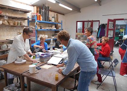Kleiklub workshop Brugge Atelier Sabine Deroo