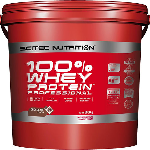 Scitec Nutrition 100% Whey Protein Professional, 5kg
