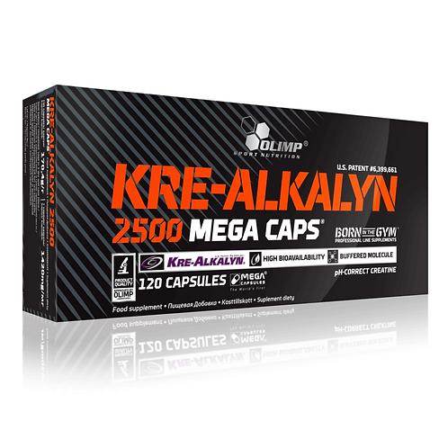 Olimp Kre-Alkalyn 2500 Mega Caps, 120Kaps