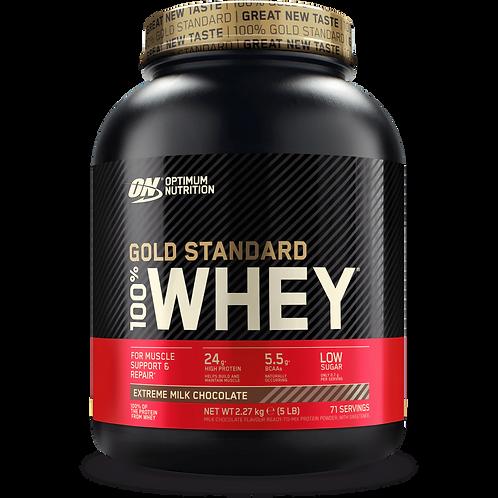 Optimum Nutrition 100% Whey Gold Standard, 908g,2270g