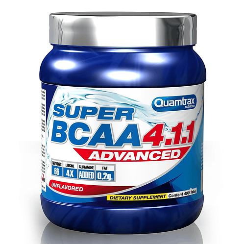 Quamtrax Super BCAA 4.1.1, 400Tab