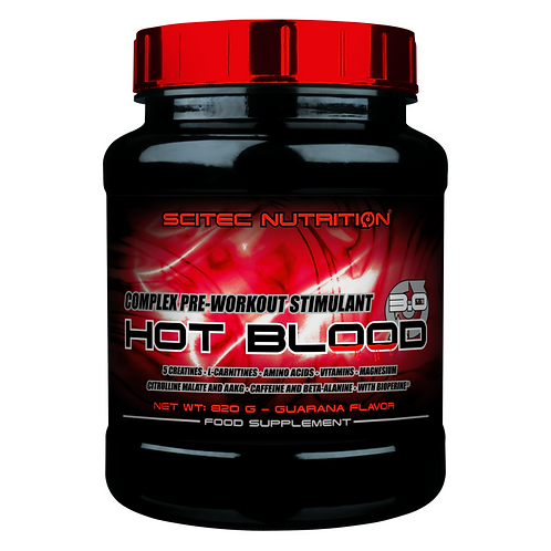 Scitec Nutrition Hot Blood 3.0, 820 g