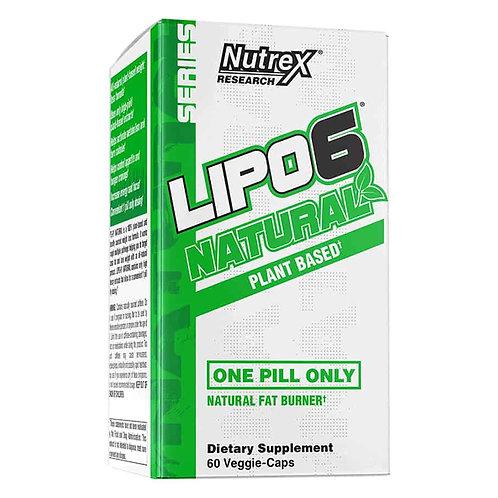 Nutrex Lipo 6 Natural, 60Kaps