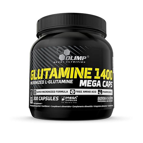Olimp Glutamine 1400 Mega Caps, 300Kaps