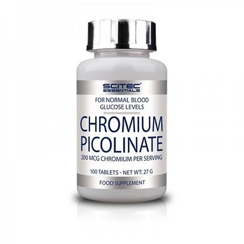 Scitec Nutrition Chromium Picolinate, 100 Tabs